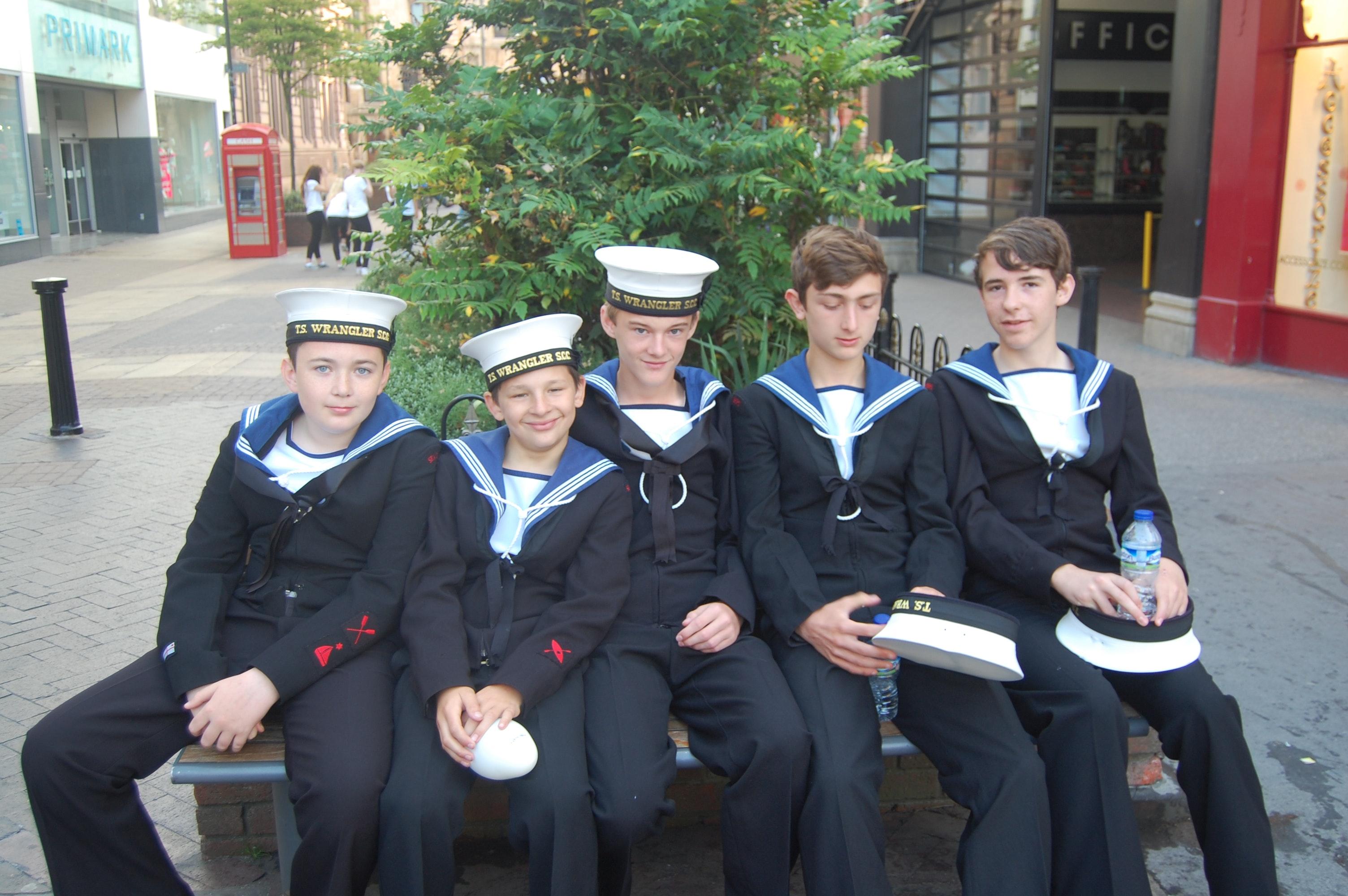 Lincoln sea scouts