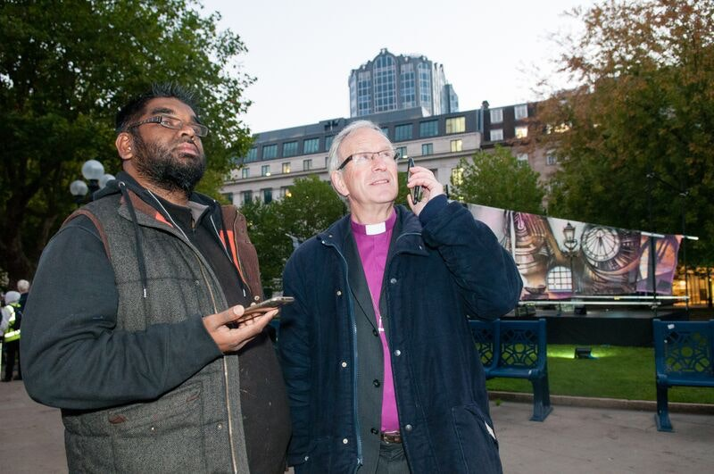 Mohammed Ali and the Bishop of Birmingham