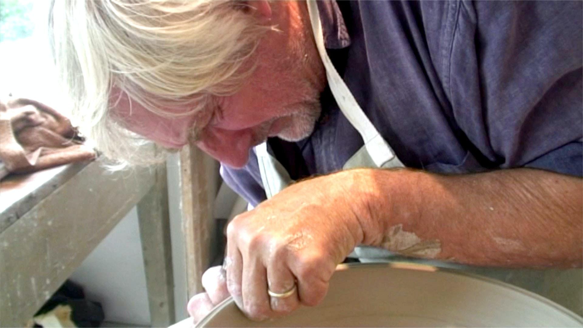 Sutton Taylor in his studio